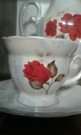 Сервіз кавовий кофейный фарфоровий сервиз