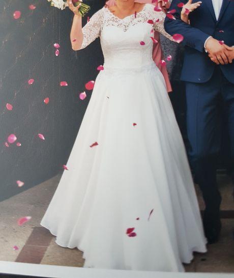 Suknia ślubna, piękna i wygodna