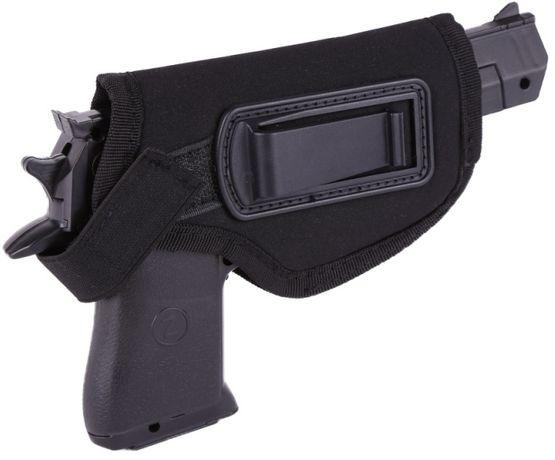 Coldre preto para transportar arma pistola desporto Airsoft NOVO