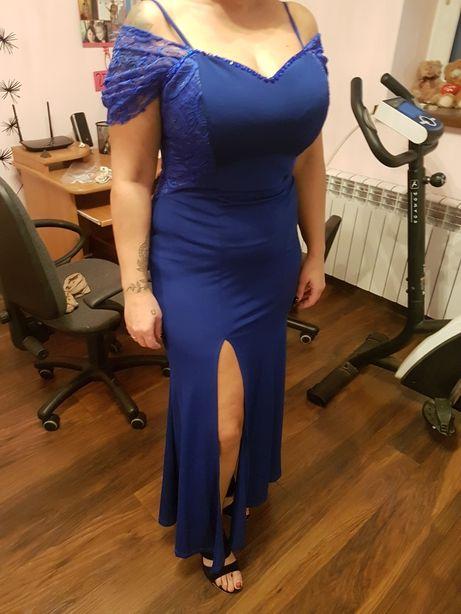 Długa elegancka suknia