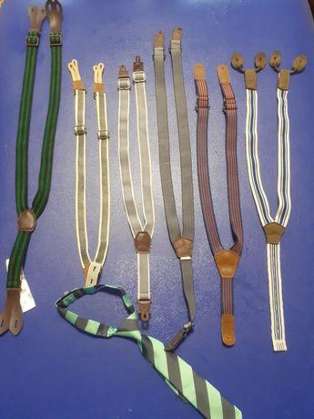 Детские подтяжки Lupilu, h&m и галстук Next