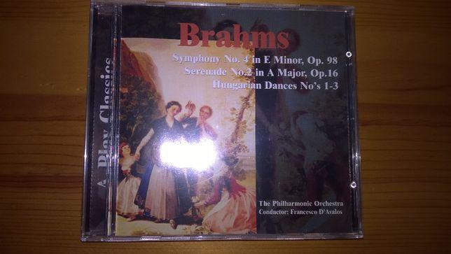 CD - Diversas Sinfonias de Brahms (Novo)