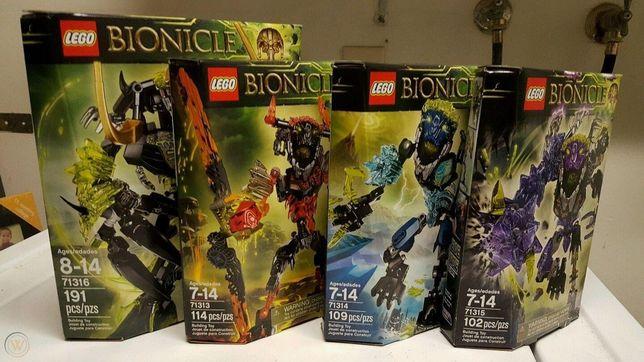 Набор Лего Lego Bionicle 71313 71314 71315 71316