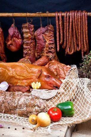 PROSIAK, PROSIE, WĘDLINY TRADYCYJNE - na stół wiejski - grill