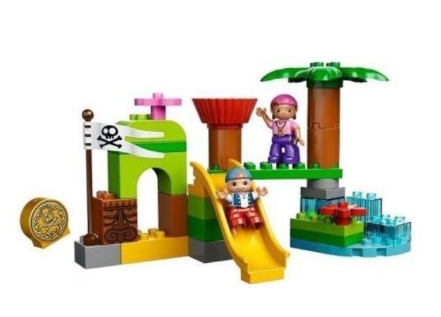 Lego duplo 10513 Укрытие пиратов Нетландии