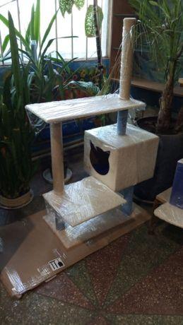 домик-дряпка для кота