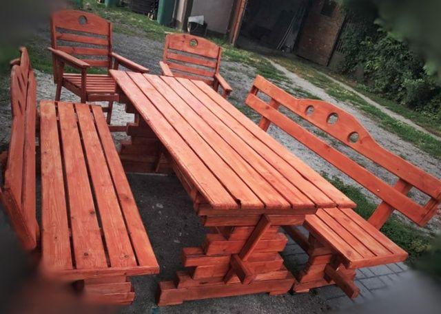Nowy komplet meble ogrodowe stol ławki krzesła