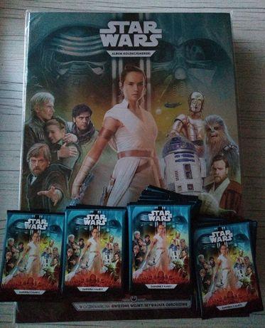 Star Wars albumy i karty 300 sztuk po dwie