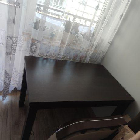 Stół venge 120x70 ciemny brąz