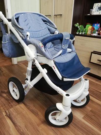 Детская универсальная коляска 2 в 1 Adamex Barletta New