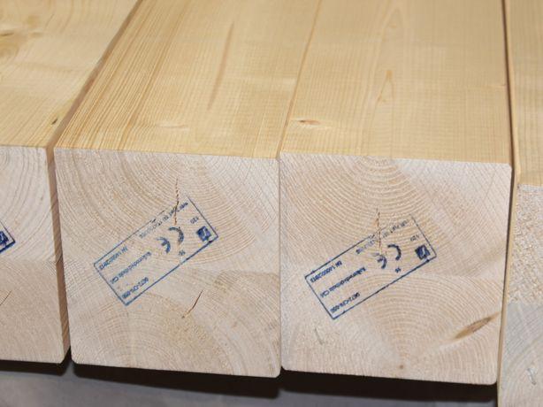 Drewno klejone warstwowo DUO na antresolę. Belka 160x160mm. Śląskie.