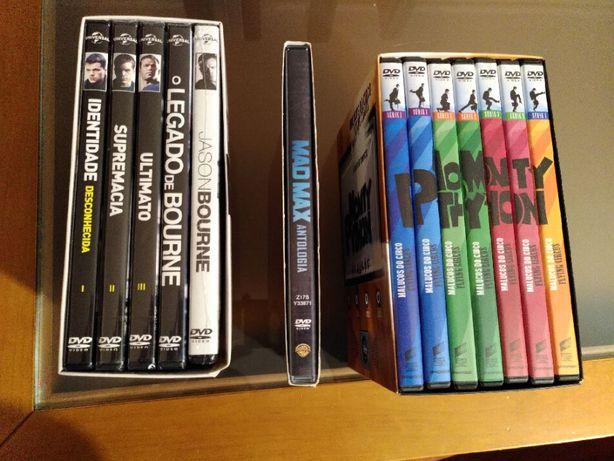 Séries ou Coleções de Filmes em DVD