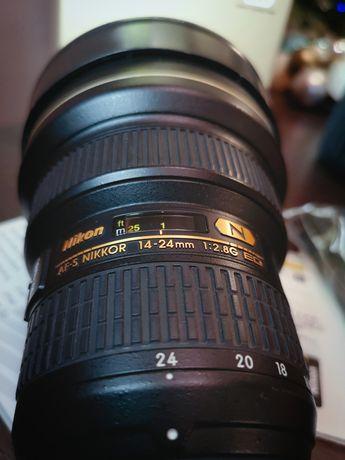 NIKON Obiektyw AF-S Nikkor 14-24 mm 1:2.8G ED