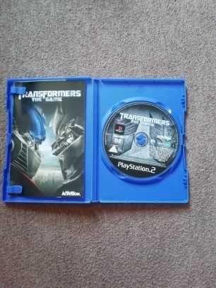 Gra TRANSFORMERS na PlayStation2