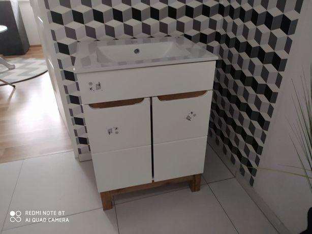 Szafka łazienkowa z umywalką nowa 60 cm! Możliwość przywiezienia!