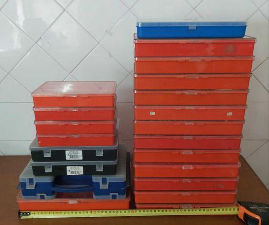 Grande Lote caixas mini contentores SUC
