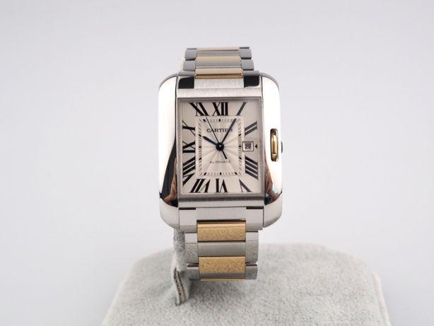 Новые часы Cartier Tank Anglaise