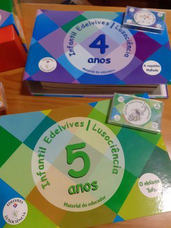 Livros de apoio ao educador