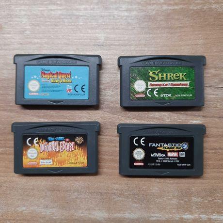 Gry Magical Quest Shrek Infurnal Escape Fantastic 4 Game Boy Advance