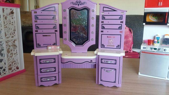 Toaletka, kuchnia Barbie