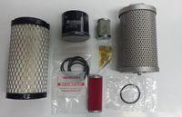 Zestaw oryginalnych filtrów filtry minikoparka TAKEUCHI TB215 TB216