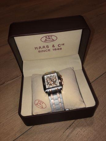 Haas & Cie Herrenuhr Rasmus Bicolor Chronograph часы мужские