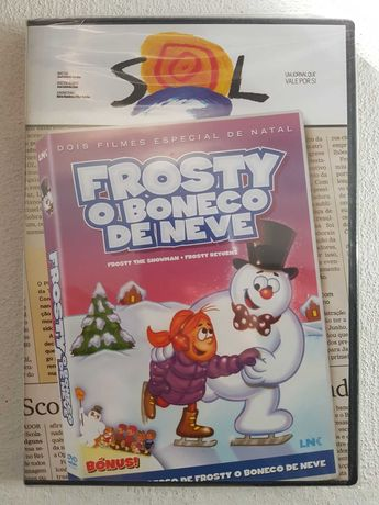 Frosty: O Boneco de Neve - DVD - Selado