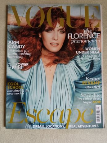 Vogue British Florence moda po angielsku angielski