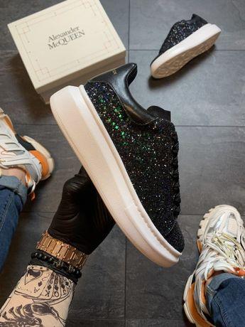 Ботинки Alexander McQueen Swarovski Premium   черевики Женские маквин