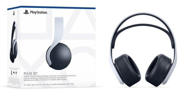 Sony PULSE 3D PS5 - gwarancja - Łódź
