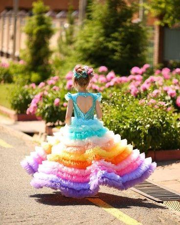 Платье на выпускной, детское платье, эксклюзивные платья