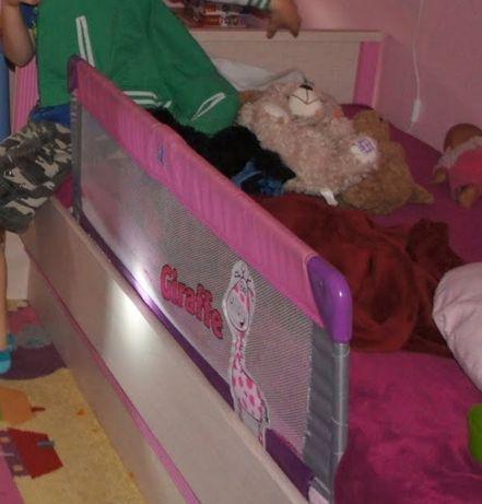 Składana barierka na łóżko 150cm