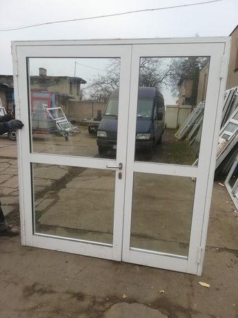 Drzwi alu P. Poż używane z Niemiec stan bdb  dostawa gratis cały kraj