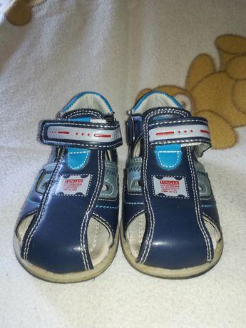 Sandałki chłopięce rozmiar 23