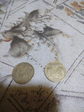 Продам монеты 1992, 1994