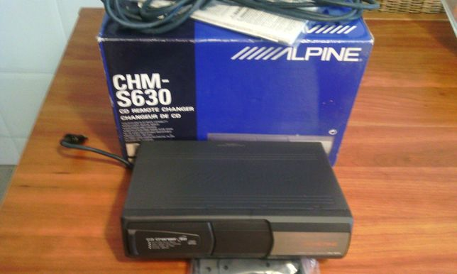 Leitor CDs multiplo ALPINE CHM- S630