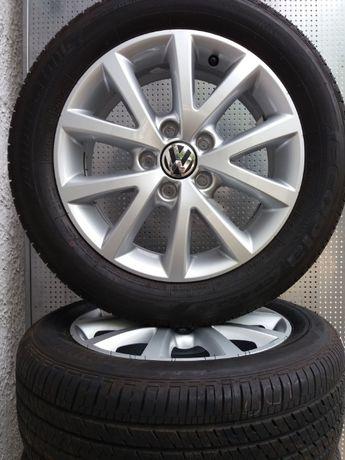 Koła alu całoroczne 6,5x16 5x112 205/55R16 Bridgestone Nowe Oryginał