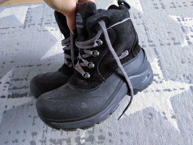 Buty zimowe, śniegowce chłopięce The North Face 35