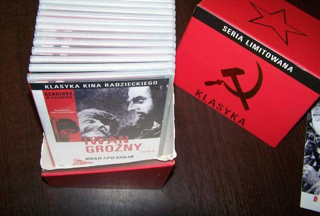 BOX CZERWONY Klasyka Kina Radzieckiego Cichy Don Tak tu cicho o zmierz