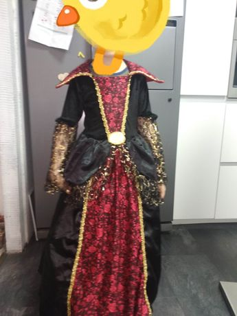 Suknia bal karnawałowy