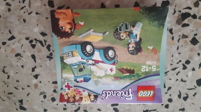 Lego Friends Karetka weterynarza 41086