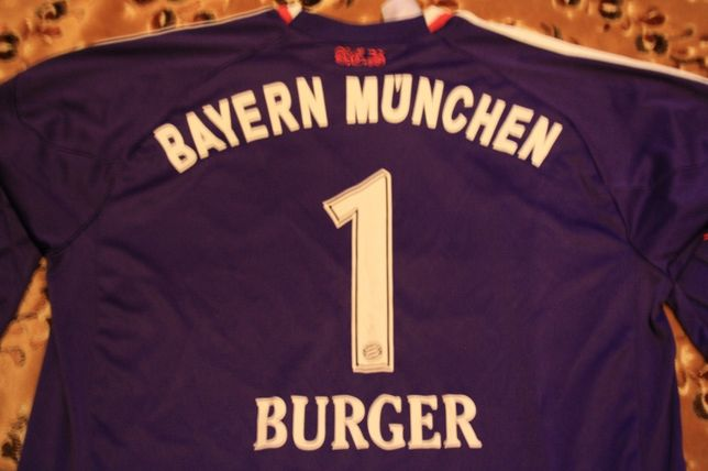Bayern Munche bramkarska BURGER 1,Bundesliga 09/10