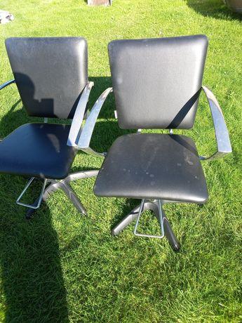 Krzesła fryzjerskie