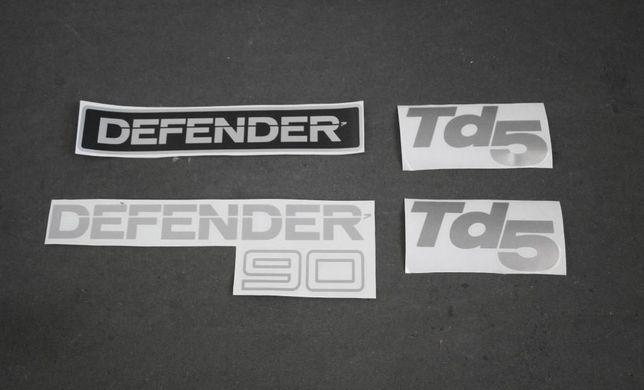 DEFENDER 90/110/130_ Kit autocolantes TDI / TD5