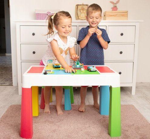 Детский столик для творчества, игр с Lego, водой и песком, Польша