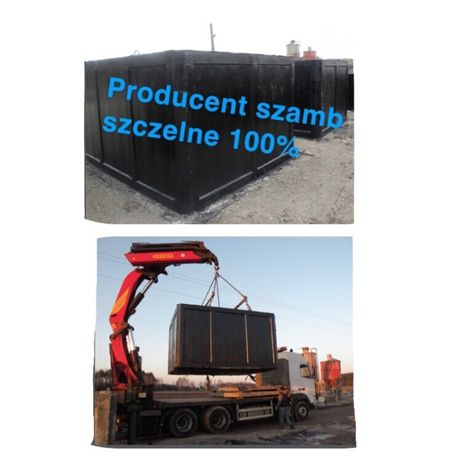 Szambo szamba betonowe zbiorniki z ATESTEM i Aprobatą ITB