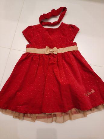 Czerwona sukienka 86