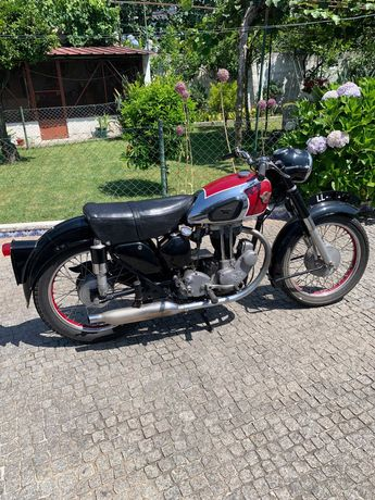 Moto Clássica Matchless 350 g3ls (1954)