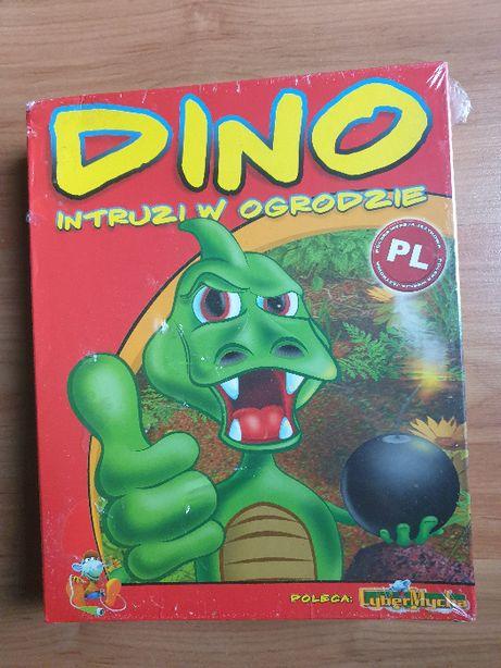 Dino - Intruzi w ogrodzie - gra na PC - Box pudełko kartonowe