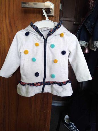 Bluza  dla dziewczynki 5.10.15 r 62.jak nowa